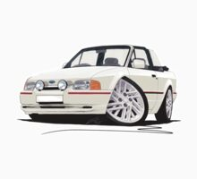 Ford Escort XR3i Cabriolet (90 Spec) White by Richard Yeomans