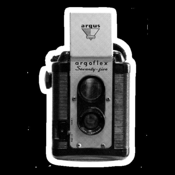 Argus Argoflex Seventy-five - Halftone by Kitsmumma