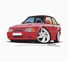 Ford Escort RS Turbo S2 Red Baby Tee