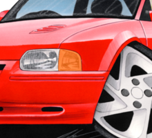 Ford Escort RS Turbo S2 Red Sticker
