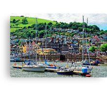 Dartmouth - The Gem of The English Riviera, Devon, England Canvas Print