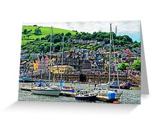 Dartmouth - The Gem of The English Riviera, Devon, England Greeting Card