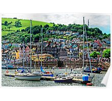 Dartmouth - The Gem of The English Riviera, Devon, England Poster
