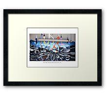 Painting on Van Ness Framed Print