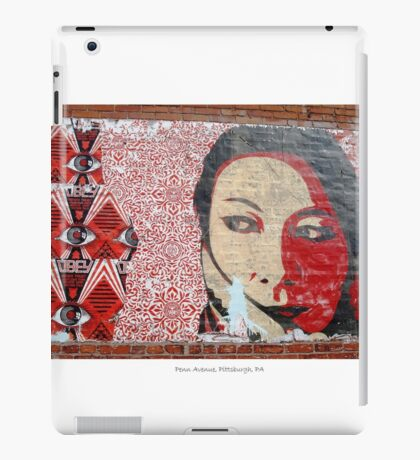 Fairey on Penn in the Burgh iPad Case/Skin