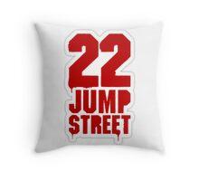 22 Jump Street LOGO Throw Pillow