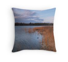 Dusk on Harold Lake Throw Pillow