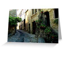 Narrow Lane. Greeting Card