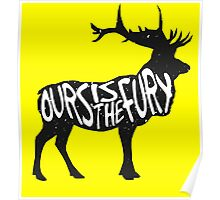 OURS IS THE FURY, Poster