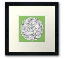 Woven Drawing Framed Print
