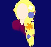 Rapunzel ~ Flower Princess by EmmaPopkin