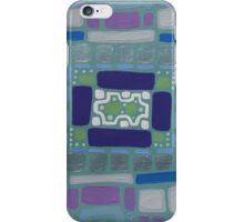 City Buildings as Archaeology Sketches iPhone Case/Skin