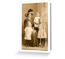 neovibe.us | vintage photography Greeting Card