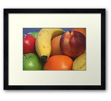 Pile of Fruit Framed Print
