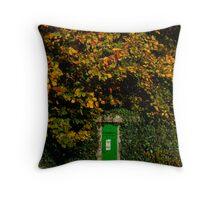 Autumn Legan Postbox, Ireland Throw Pillow