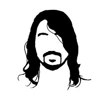 Dave Grohl's Beard Silhouette by thechimp