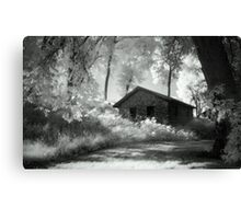 Moss and an Old Manse Canvas Print