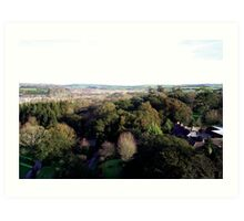 Blarney 2 - The View Art Print