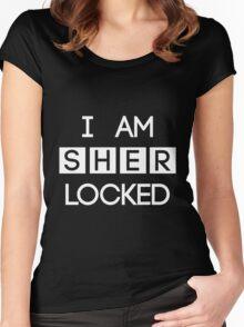 Sherlocked Women's Fitted Scoop T-Shirt