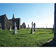 Clonmacnoise - on the Shannon River Photographic Print