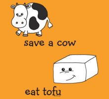 Save a Cow Eat Tofu T-Shirt