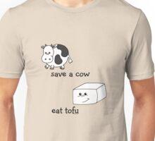 Save a Cow Eat Tofu Unisex T-Shirt