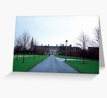 Art Gallery Walk Greeting Card