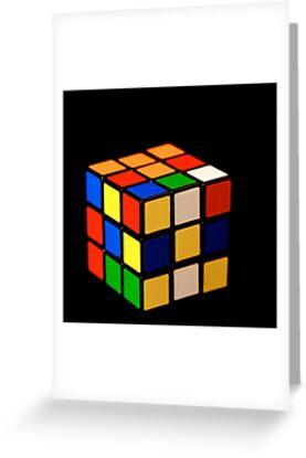 Rubik's Cube by Pamela Hubbard