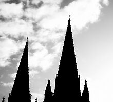 Steeples 1 by Erica Corr