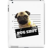 Pug Shot iPad Case/Skin
