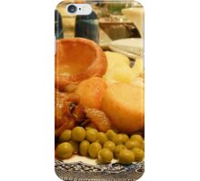 Dig in! A Delicious Gravy Dinner iPhone Case/Skin