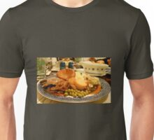 Dig in! A Delicious Gravy Dinner Unisex T-Shirt