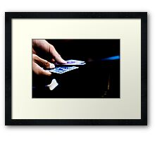 The magic trick part 2 Framed Print