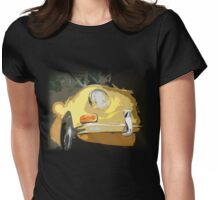 Large Yellow Ghia Womens Fitted T-Shirt