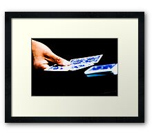 The magic trick Part 3 Framed Print