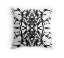Tribal Vampire Soul Throw Pillow