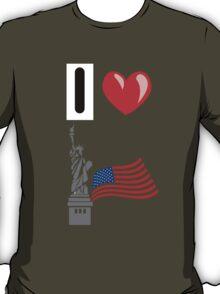 I LOVE USA (NEW YORK) T-Shirt