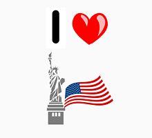 I LOVE USA (NEW YORK) Unisex T-Shirt