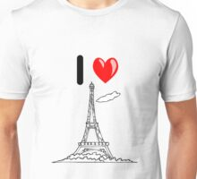 I LOVE PARIS Unisex T-Shirt