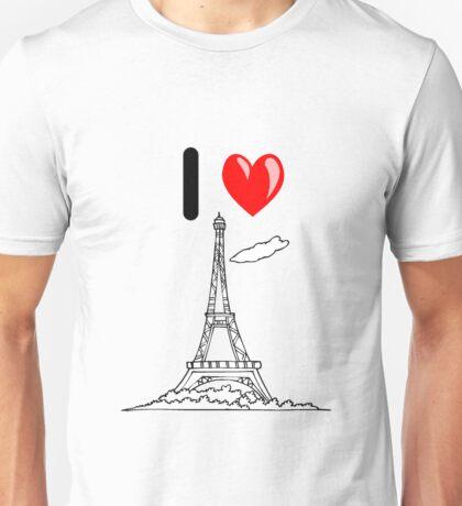 I LOVE PARIS Unisex T-Shirt