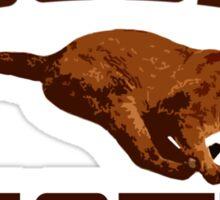 Cougar t-shirt Sticker