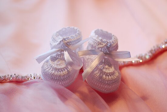 Baby Girl Shoes by Renee Hubbard Fine Art Photography