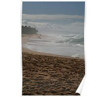 North Shore Waves Poster