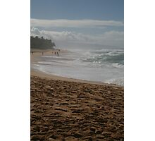 North Shore Waves Photographic Print