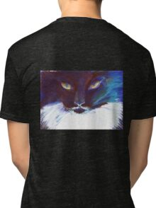 Feline Stare Tri-blend T-Shirt