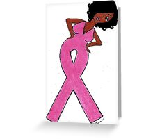 Breast Cancer Gift Items Greeting Card