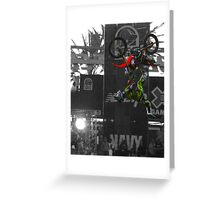 x games 7 Greeting Card