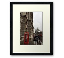Tele Framed Print