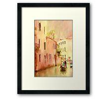 Venice. Italy. Framed Print