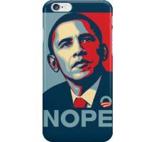 Obama Nope iPhone Case/Skin